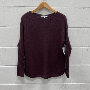 NEW Alfred Sung Ladies Burgundy Coloured Sweater